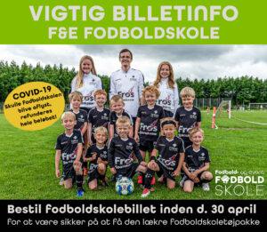 Billetinfo fodboldskole